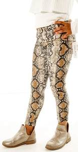 Sassy Snakeprint Leggings