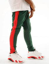Load image into Gallery viewer, Little Rookie Track Pants- Green