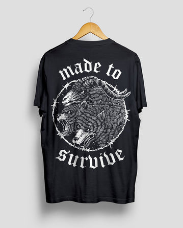 Made To Survive - Black Tee Shirt