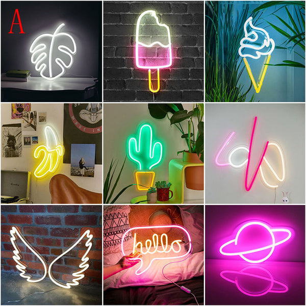 Neon Party Wall Art