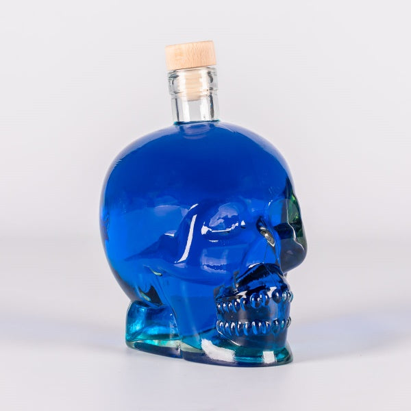 700ML Skull - Blue Angel Liqueur - Flaschengeist