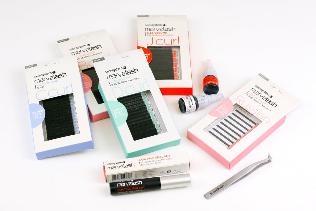Salon System MARVELASH Lash Guide