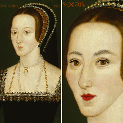 Anne Boleyn (before and after)
