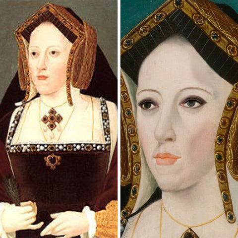 Catherine of Aragon (before and after)