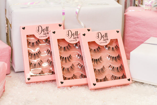 Doll Beauty multipack lashes human hair