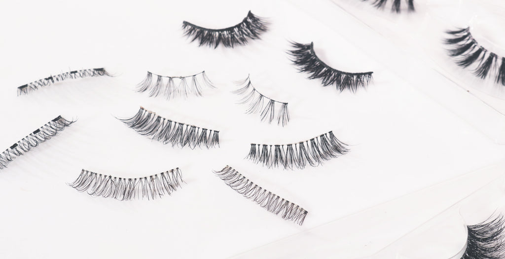 Different Types Of Lash Bands False Eyelashes