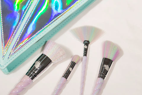 Add a Little Magic to your Makeup with a Unicorn Brush Set