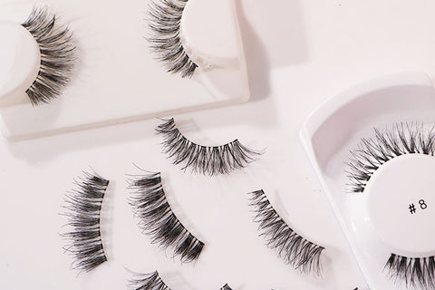 Five False Lashes for under £5!
