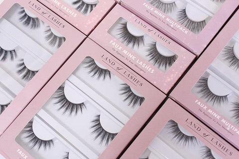 Just Landed: Land of Lashes!