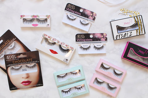 Lashes in All Shapes & Sizes