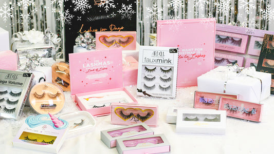 Over 1000 Styles of False Eyelashes in Stock