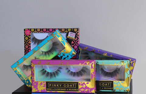 New Pinky Goat Lashes