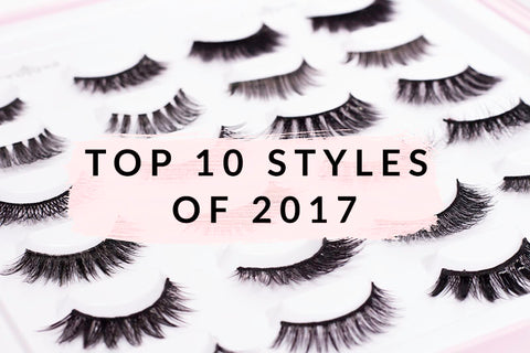 Top 10 Lash Styles of 2017