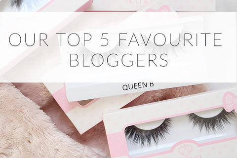 c6ccb8f5fc0 Our Top Five Favourite Bloggers | False Eyelashes