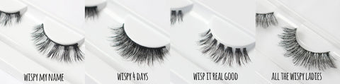 Top Four Wispy Lash Styles by Violet Voss