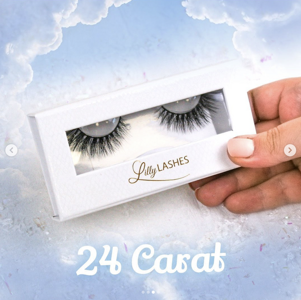Lilly lashes in style 24 Carat