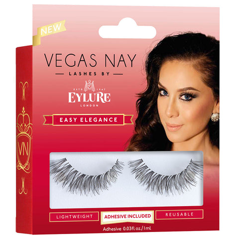 Vegas Nay Lashes by Eylure - Easy Elegance - Angled Packaging