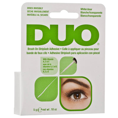 DUO Brush-on Strip Lash Adhesive White/Clear Tone (5g)