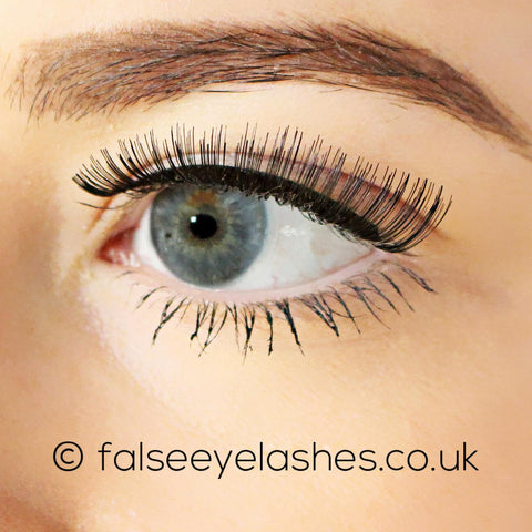 Ardell Fashion Lashes Black 107 - Model Shot 2