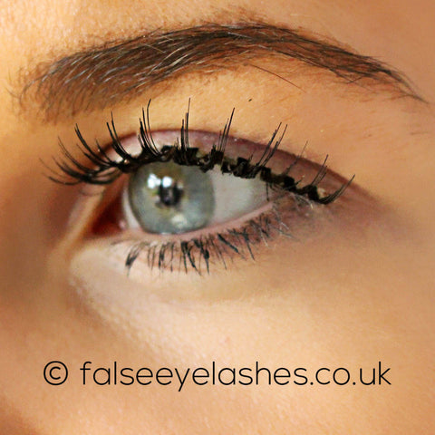 Ardell Fashion Lashes Black 104 - Model Shot 2