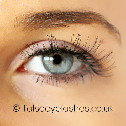 Red Cherry Lashes Style #WSP (Wispy) - Model Shot 1