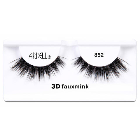 Ardell 3D Faux Mink Lashes Black 852 (Tray Shot)