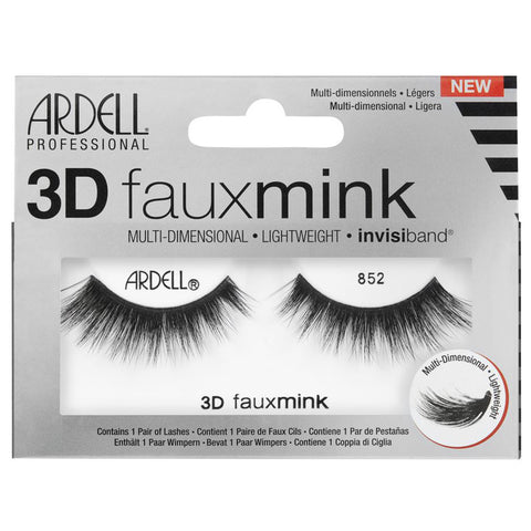 Ardell 3D Faux Mink Lashes Black 852