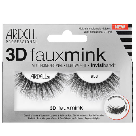 Ardell 3D Faux Mink Lashes Black 853