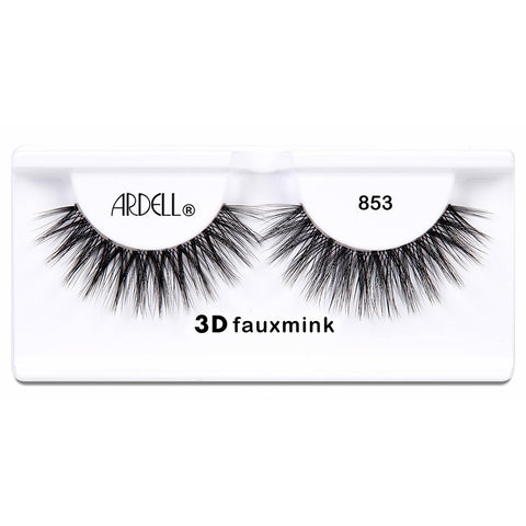 Ardell 3D Faux Mink Lashes Black 853 (Tray Shot)