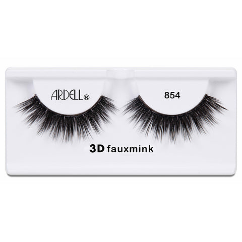 Ardell 3D Faux Mink Lashes Black 854 (Tray Shot)