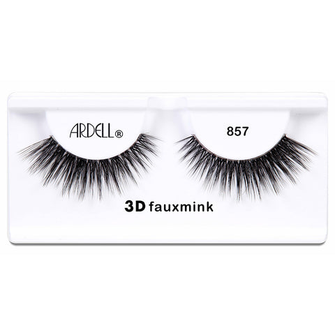 Ardell 3D Faux Mink Lashes Black 857 (Tray Shot)