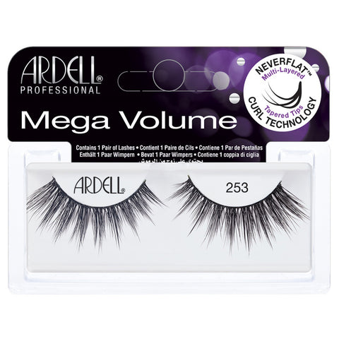 Ardell 3D Mega Volume Lashes Black 253