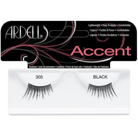 Ardell Accent Lashes - Ardell Accent Lashes 305 Black