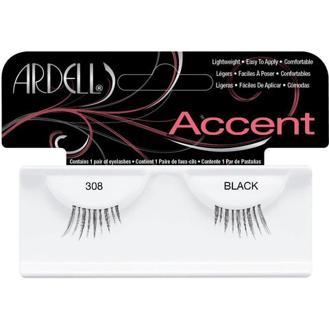 Ardell Accent Lashes - Ardell Accent Lashes 308 Black