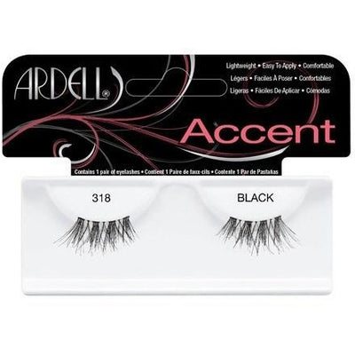 Ardell Accent Lashes - Ardell Accent Lashes 318 Black