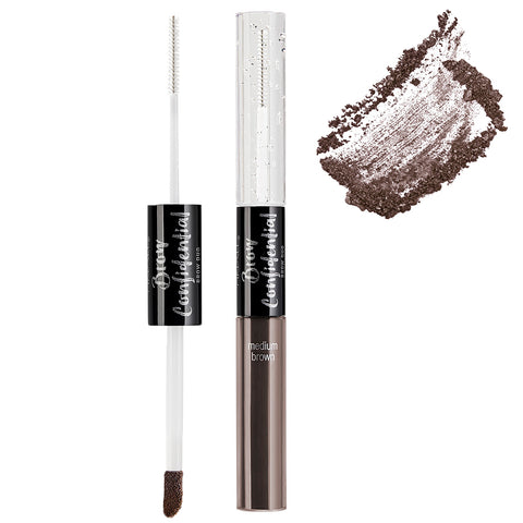 Ardell Beauty - Brow Confidential Brow Duo Medium Brown (With Swatch)