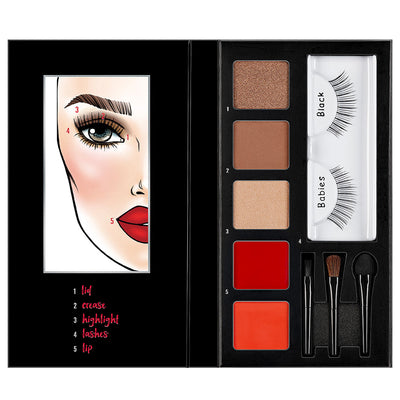 Ardell Beauty Looks to Kill Eye & Lip Palette - Steal the Show