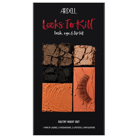 Ardell Beauty Looks to Kill Eye & Lip Palette - Sultry Night Out (Closed 1)
