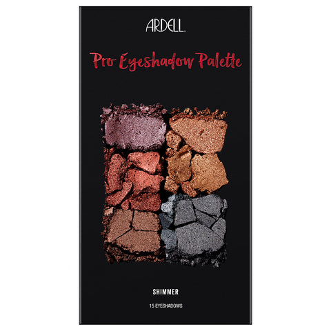Ardell Beauty - Pro Eyeshadow Palette Shimmer (15g) - Closed 1