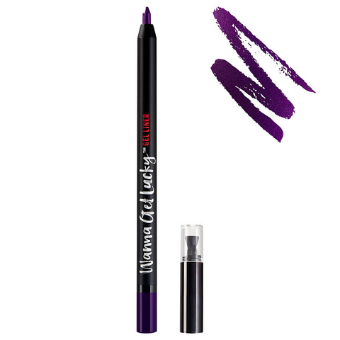 Ardell Beauty - Wanna Get Lucky Gel Eyeliner Purple (0.55g) With Swatch
