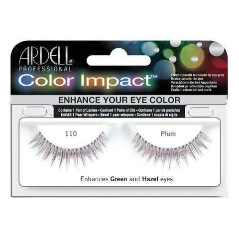 Ardell Color Impact Lashes - Ardell Color Impact Lashes 110 Plum