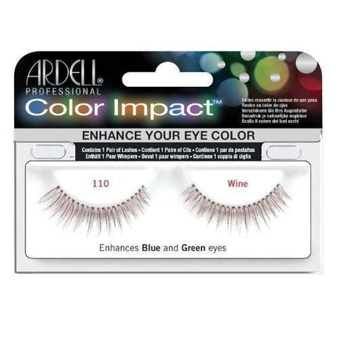 Ardell Color Impact Lashes - Ardell Color Impact Lashes 110 Wine