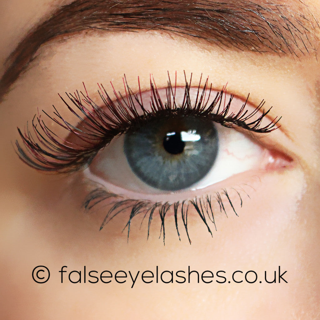 Buy Ardell Color Impact Lashes Demi Wispies Wine False