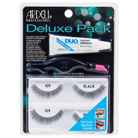 Ardell Deluxe Pack Lashes 109 Black