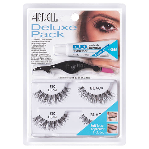 Ardell Deluxe Pack Lashes 120 Black