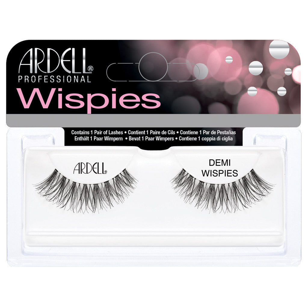 Ardell Invisiband Lashes Black Demi Wispies False Eyelashes