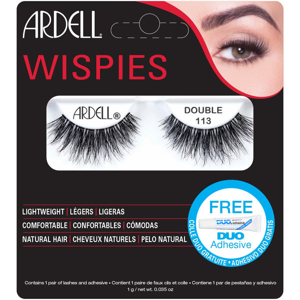Ardell Double Wispies 113 Lashes (with DUO Glue)