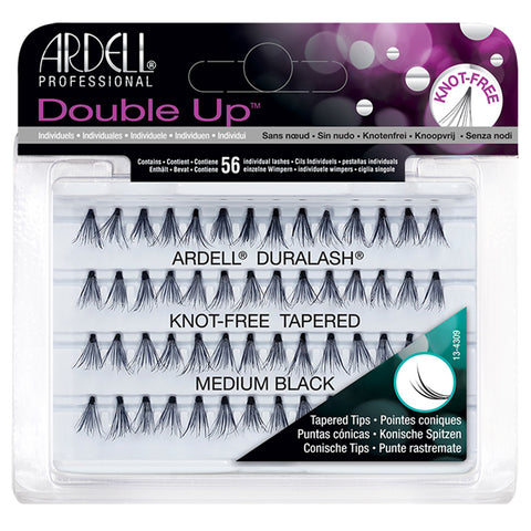 Ardell Duralash Double Up Soft Touch Individuals - Medium Black