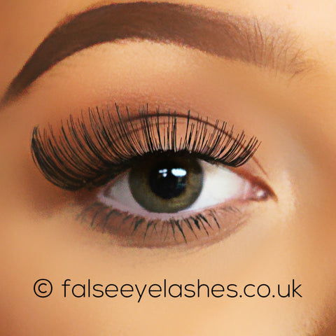 Ardell Fashion Lashes Black 111 - Front Shot