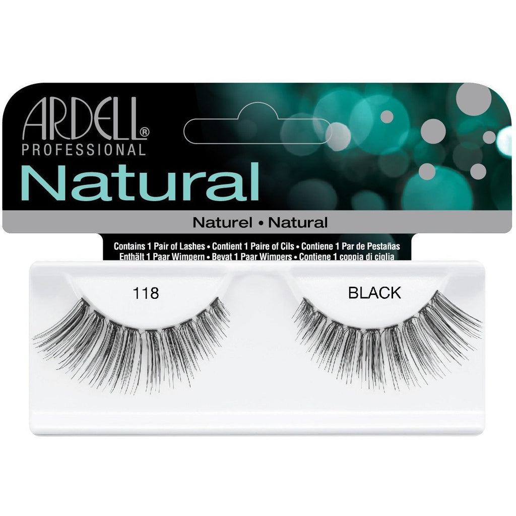 Natural 118 Black Lashes 65091 by ardell #8